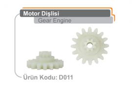 Motor Dişlisi D011