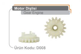 Motor Dişlisi D008
