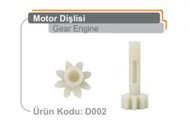 Motor Dişlisi D002