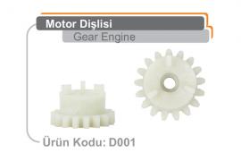 Motor Dişlisi D001