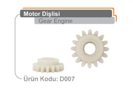 Motor Dişlisi D007