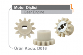 Motor Dişlisi D016