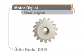 Motor Dişlisi D018