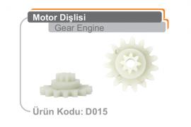Motor Dişlisi D015