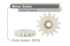 Motor Dişlisi D014