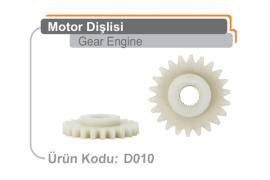 Motor Dişlisi D010