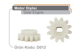 Motor Dişlisi D012