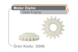 Motor Dişlisi D006