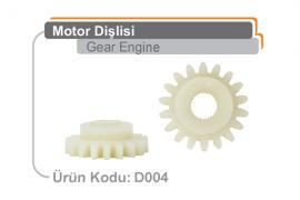 Motor Dişlisi D004